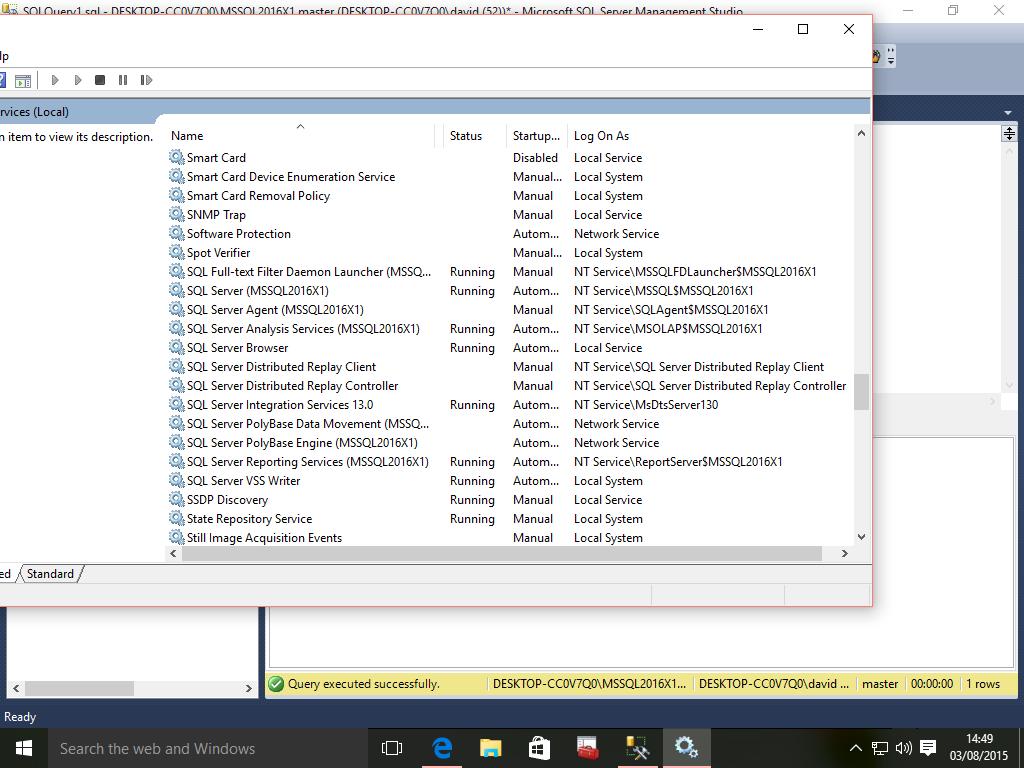 install sql server 2016 on windows 10 step by step
